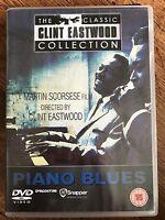 PIANO BLUES ~ Martin Scorsese / Clint Eastwood Music Documentary Rare UK DVD