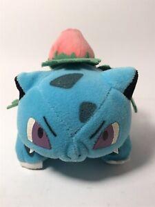 "Vintage 1998 Pokemon Bulbasaur Plush Stuffed Animal Toy Nintendo 4"""