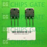 8 PAIRS Transistor TOSHIBA TO-3P 2SA1516/2SC3907 A1516/C3907