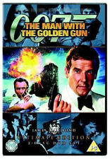 THE MAN WITH THE GOLDEN GUN ULTIMATE EDITION ROGER MOORE 2 DISC DVD NEW & SEALED