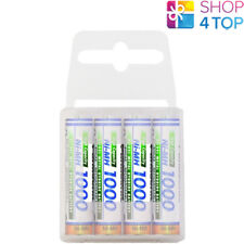 4 PANASONIC Ni-MH 1000mAh RECHARGEABLE AAA R03 BATTERIES HIGH CAPACITY 1.2V NEW