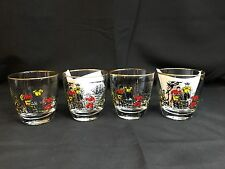 Vintage Pirate Booty Vintage Room Tumbler Glasses Libby