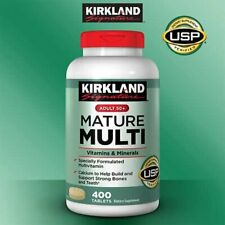 Kirkland Signature Adults 50+ Mature Multi 400 Tablets