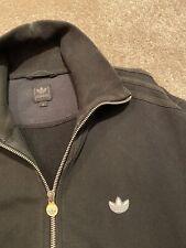 Adidas Originals Sudadera Cremallera Retro Negro Top-M