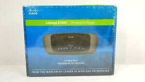 CISCO Linksys E1000 Wireless-N Router Fast Ethernet 2.4 GHz Band 10/100 Ports