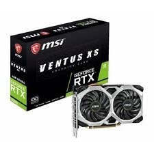 MSI NVIDIA GeForce RTX 2060 VENTUS XS OC 6GB GDDR6 HDMI/3DisplayPort PCI-E