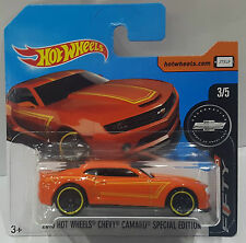 HOT WHEELS 2017/2013 Chevy Camaro SPECIAL EDITION Camaro FIFTY 3/5 ORANGE