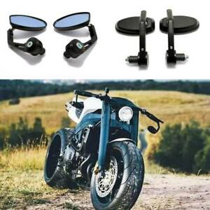 """Motorcycle BLACK 7/8"""" BAR END MIRROR for DUCATI MONSTER 696/796 900 1100 1200 AU"""