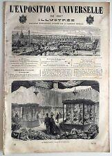 L'Exposition Universelle Illustrée n°57- 1867 : La Maroquinerie Les machines