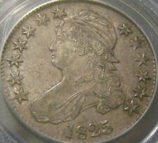 1825 Capped Bust Half Dollar PCGS AU55 CAC O-111