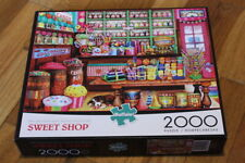 "Buffalo 2000 Piece Puzzle 100% COMPLETE  ""Sweet Shop""  38.5"" x 26.5"""