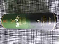 Glenfiddich Empty Tin Presentation Box Single Malt Scotch Whiskey Glenfiddich