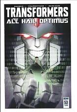 TRANSFORMERS # 53 (ALL HAIL OPTIMUS, MAY 2016), NM NEW