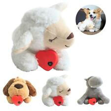 Dog Cat Plush Toy Behavioral Training Aid Toy Heart Beat Soothing Plush Doll