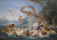Francois Boucher: The Triumph of Venus. Art Print/Poster
