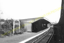Shanklin Railway Station Photo. Sandown - Wroxall and Ventnor. Isle of Wight (14