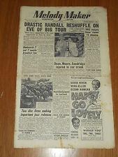 MELODY MAKER 1951 #933 AUG 4 JAZZ SWING FREDDY RANDALL ALAN DEAN TED HEATH MOORE