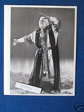 "Original Press Photo - 10""x8"" - Laurence Olivier - King Lear - 1987"