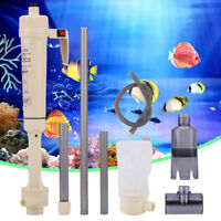 Electric Aquarium Fish Tank Battery Gravel Cleaner Washer Tool Vacuum Syphon Up