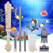Electric Aquarium Fish Tank Battery Gravel Cleaner Washer Tool Vacuum Syphon Up