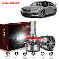 H11 H8 H9 LED Headlights Bulb Fog 60W 12000LM Kit Low Beam Canbus 6000K White