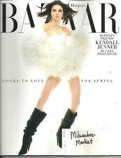 Harper's Bazaar February 2018 Kendall Jenner Free & Fast SnH Best Deal L@@K !!