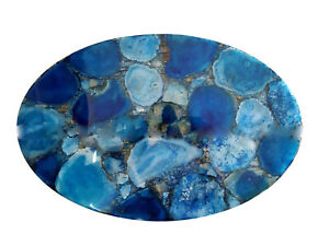Agate Table Top, Agate Table, Stone Side Coffee Table, Agate Console Table Decor