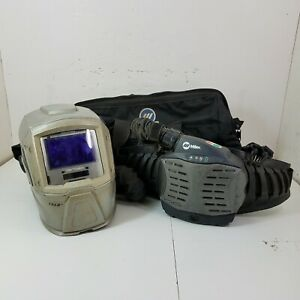 Miller T94-R Series Powered Air Purifying Respirator Welding Helmet with Bag