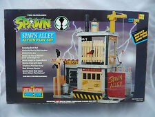 SPAWN ALLEY ACTION PLAY SET SEALED COMPLETE W/SPECIAL EDITION COMIC BOOK 1994