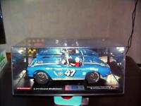 Carrera 124 - Exc. Chevrolet Corvette in blau mit Schachtel - top  !!!
