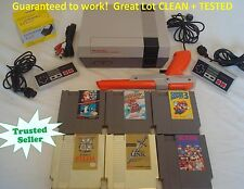 Nintendo NES Console Bundle NEW PIN Game Lot Super Mario 1 2 3 GOLD ZELDA + LINK