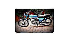 1981 sb200 Bike Motorcycle A4 Photo Poster