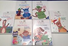 Baby Einstein DVD LOT 6 - EUC Christmas, Baby Santa's, Orchestra, First Moves +