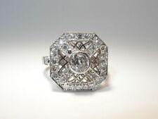 Unbehandelte mit Diamanten Ringe mit SI Reinheit Ringgröße 52 (16,5 mm Ø)