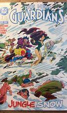 """1988 DC Comic Book New Guardians #2JUNGLE SNOW- Cocaine Super Villain-NEW-""""MINT"""""""
