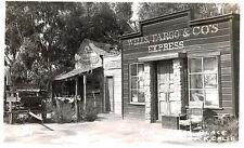 RPPC,Knotts Berry Place,Buena Park,California,Ghost,Wells Fargo Office,c.1939