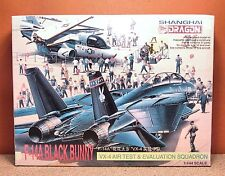 1/144 DRAGON F-14A BLACK BUNNY MODEL KIT # 4547