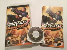 NFL STREET 2 scatenato SONY PSP PLAYSTATION PORTABLE GAME UMD + SCATOLA ISTRUZIONI
