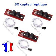 3 Capteur Optique fin de course pour imprimante 3D, REPRAP, CNC end stop Arduino