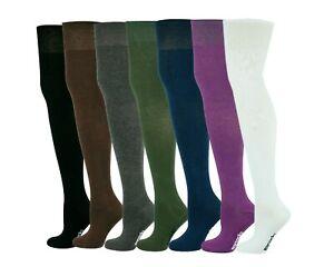 Mysocks Over The Knee Plain Vibrant Colour Socks