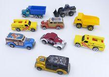 1970s Hot Wheels Cars Trucks Lot of 9 Vintage Woody Loader 3 Window Hot Rod 1/64