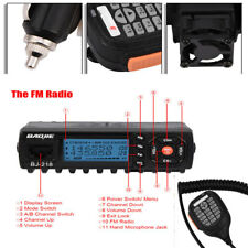 Dual-Use Mini Mobile Car Ham Radio Transceiver Walkie Talkies VHF UHF Dual-Band