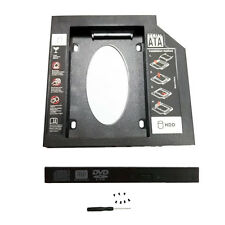 SATA 2nd HDD SSD Hard Drive Caddy for 9.5mm CD DVD Optical Bay Tray
