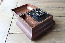 Vintage Decorative Wood Box Electric Timer