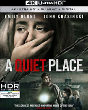 A QUIET PLACE 4K UHD + Blu-ray + Digital HD NEW!!! #AQuietPlace #SciFi #Horror