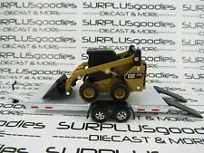 Diecast Masters 1:64 Scale LOOSE CAT 272D2 SKID STEER Front LOADER w/Trailer