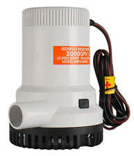SEAFLO Marine Bilge/Sump Pump 2000GPH 12v Unlike Rule 1500gph - 4 Year Warranty!