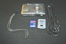 Nikon Coolpix S3200 Digital Camera, Slim Body wide 6x Zoom, 16.0 Megapixels. 6-D