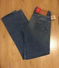 LEVIS 504 straight fit jeans w28 l32 White Oak Cone denim blue jean stretch