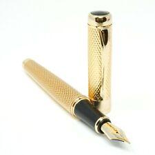 More details for jinhao 1200 golden chiselled fountain pen fine, med, broad or flex nib - uk!